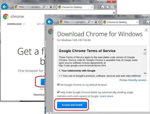 google chrome download windows 10 64 bit