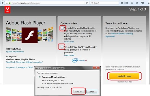 how do i download adobe flash player