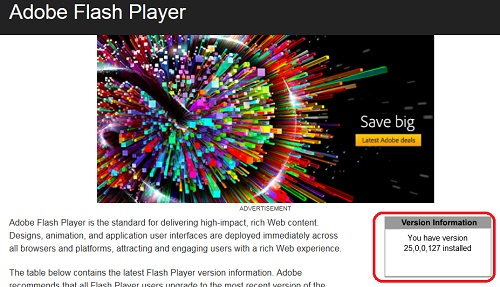 How to update adobe flash player in google chrome youtube.