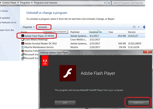 adobe flash npapi
