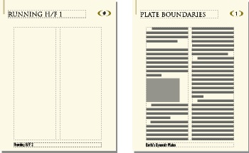 FrameMaker Document Master and Body Pages