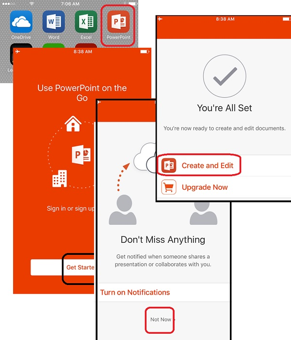 Get Started with PowerPoint for iPhone