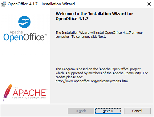 Download and Install OpenOffice on Windows