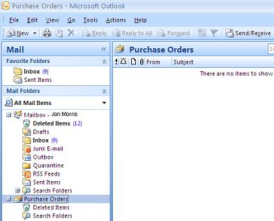 Personal Folders File in Outlook 2007